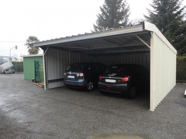 Abri 2 voitures